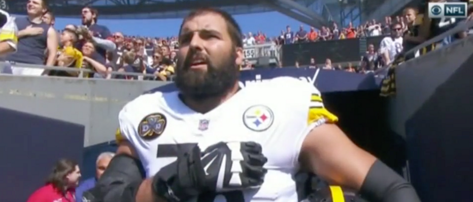Alejandro Villanueva (CBS Screenshot)