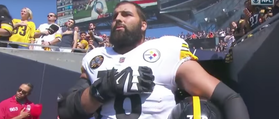 premium selection af36a 47c64 Here's How Alejandro Villanueva Earned The Bronze Star | The ...