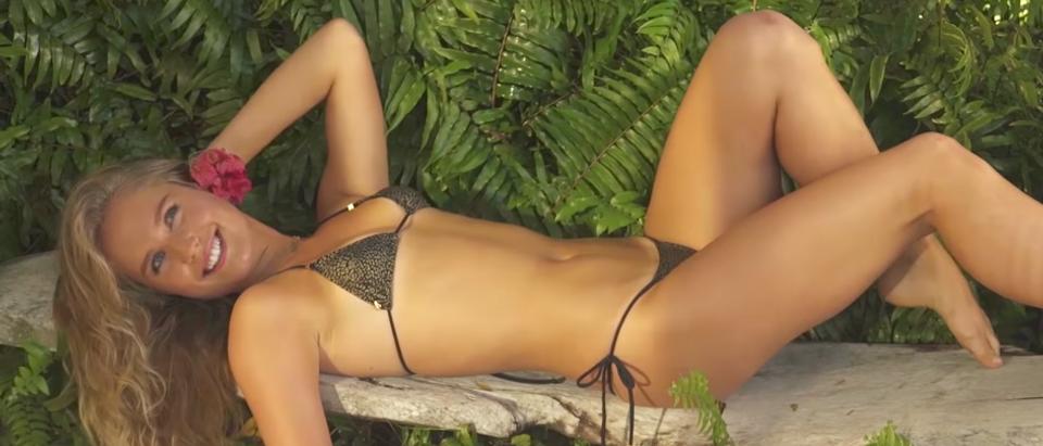 (Photo credit: screenshot/YouTube Sports Illustrated Swimsuit)