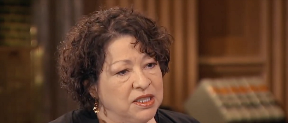 Justice Sonia Sotomayor speaks to ABC News in 2014. (YouTube screenshot/ABC News)