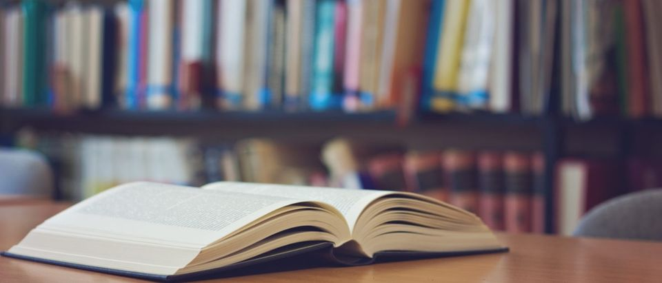 A man returned a book decades late to a library in Massachusetts. (Shutterstock)