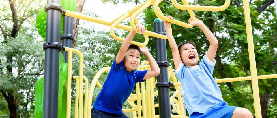 Boys playing outside (Photo: Shutterstock)