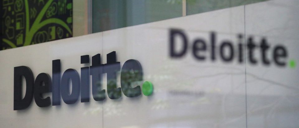 Offices of Deloitte are seen in London, September 25, 2017. REUTERS/Hannah McKay