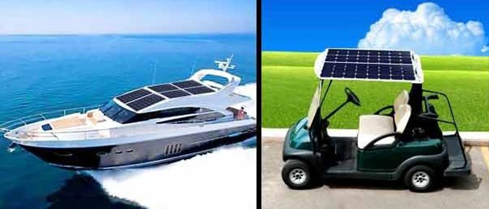 You can use this on both boats and golf carts (Photo via Amazon)