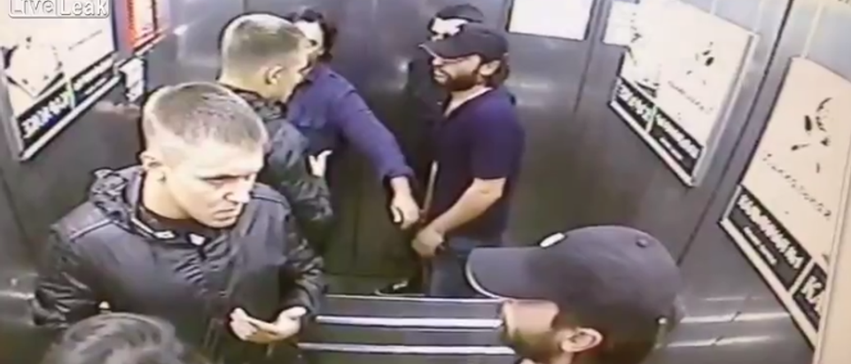Russian Dude Goes Absolutely Berserk In Savage Elevator Fight | The Daily  Caller