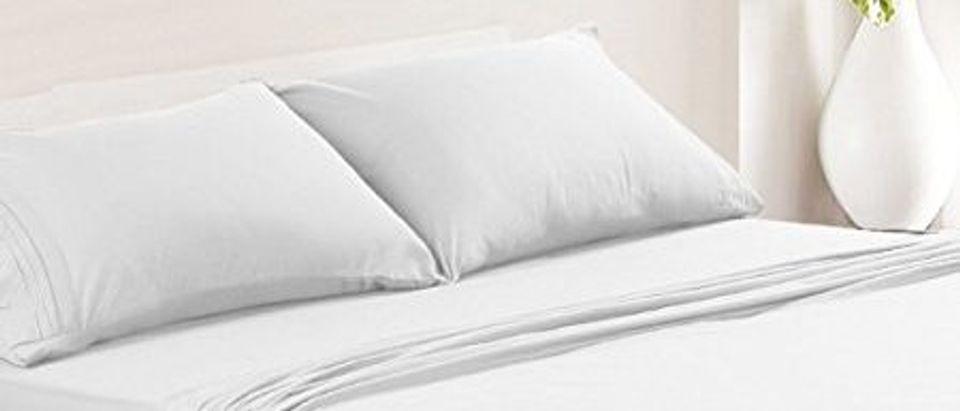 The sheets (Photo via Amazon)