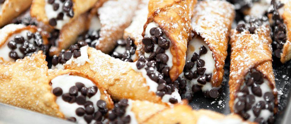 Chocolate chip cannoli (Photo via Shutterstock)