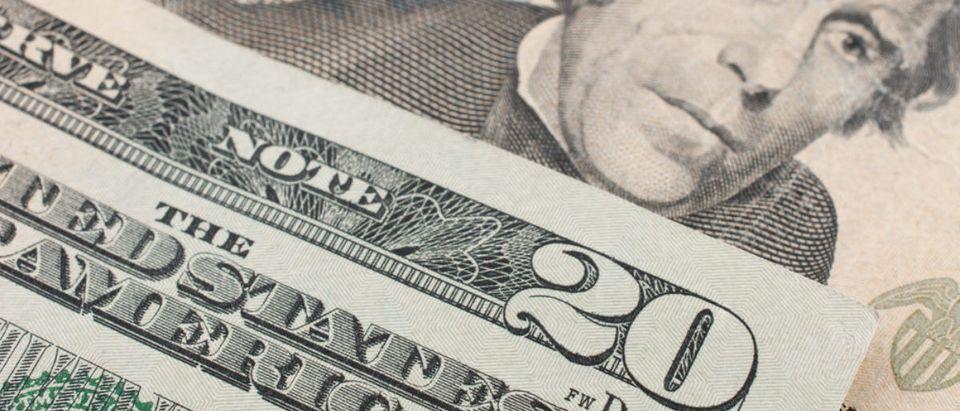 $20 bill (Credit: Shutterstock)