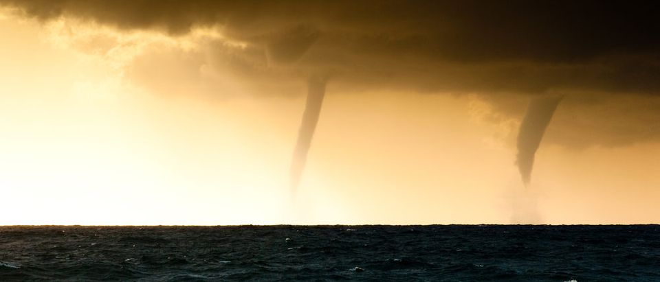 Two tornadoes (Photo via Shutterstock)