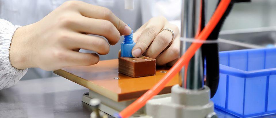 Vape manufacturer (Photo via Shutterstock)a