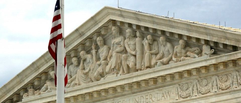 FILE PHOTO: A view of the U.S. Supreme Court building in Washington