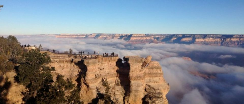 FILE PHOTO - The South Rim of the Grand Canyon National Park which is on the UNESCO World Heritage Natural List in Grand Canyon Arizona