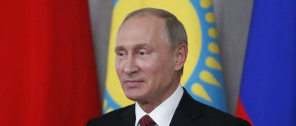 Russia's President Putin addresses the media in Sochi