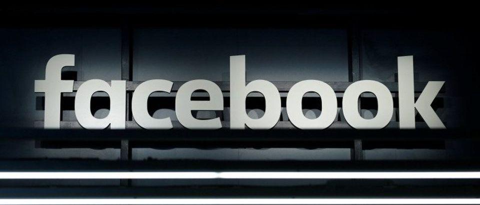 A Facebook logo is pictured at the Frankfurt Motor Show (IAA) in Frankfurt