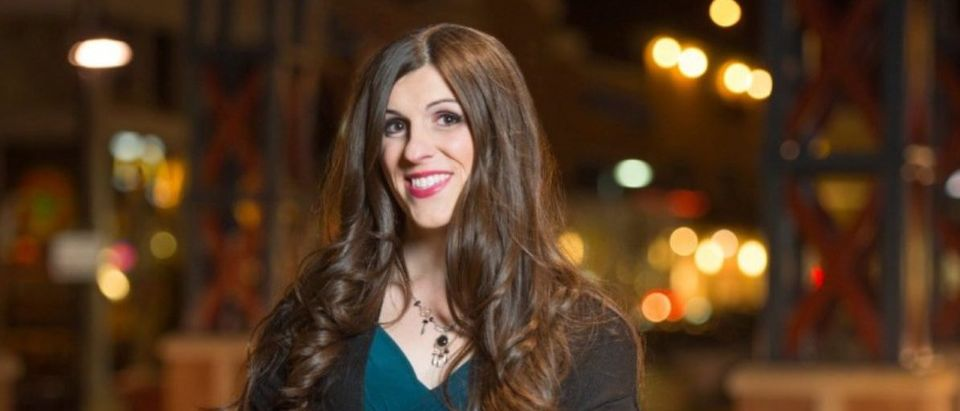 Democratic candidate for Virginia House of Delegates 13th District Danica Roem in Gainesville