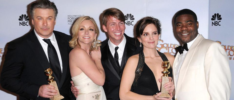 Cast of '30 Rock' in the press room at the 66th Annual Golden Globe Awards. Beverly Hilton Hotel, Beverly Hills, CA. 01-11-09 (Shutterstock)