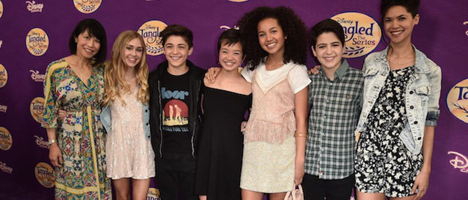 """Screening Of Disney's """"Tangled Before Ever After"""" - Arrivals"""