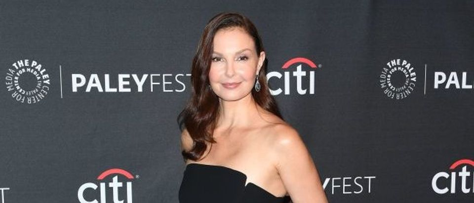 Actress Ashley Judd arrives on the red carpet for the EPIX 'Berlin Station' preview at The Paley Center for Media in Beverly Hills, California, on September 16, 2017. (Photo: MARK RALSTON/AFP/Getty Images)