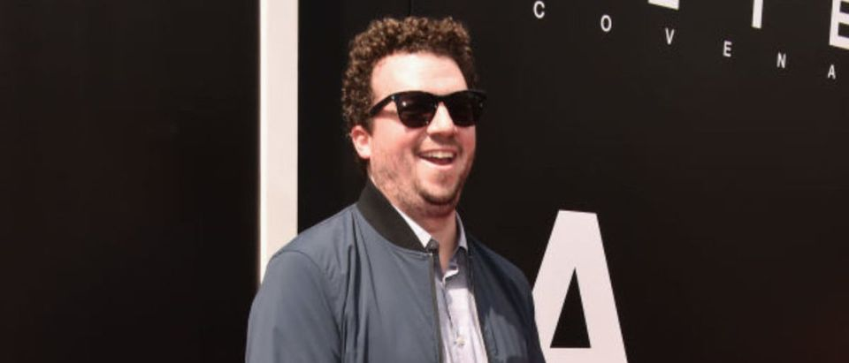 Actor Danny McBride attends Sir Ridley Scott's hand and footprint ceremony at TCL Chinese Theatre IMAX on May 17, 2017 in Hollywood, California. (Photo by Alberto E. Rodriguez/Getty Images)