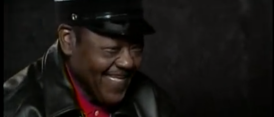 """Legendary New Orleans pianist and song writer Antoine """"Fats"""" Domino Jr. passed away Tuesday night, according to reports. (YouTube Screenshot/Galaxies352)"""
