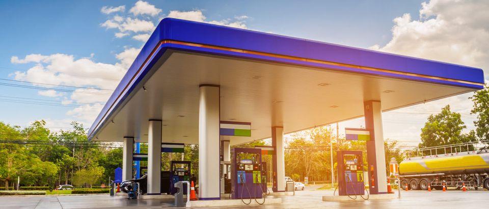 Gas Station (Shutterstock)