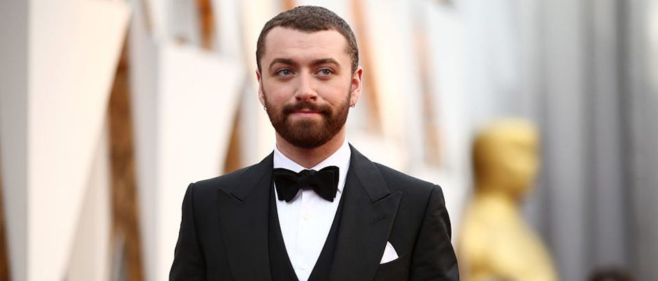 HOLLYWOOD, CA - FEBRUARY 28: Singer Sam Smith attends the 88th Annual Academy Awards at Hollywood & Highland Center on February 28, 2016 in Hollywood, California. (Photo by Christopher Polk/Getty Images)