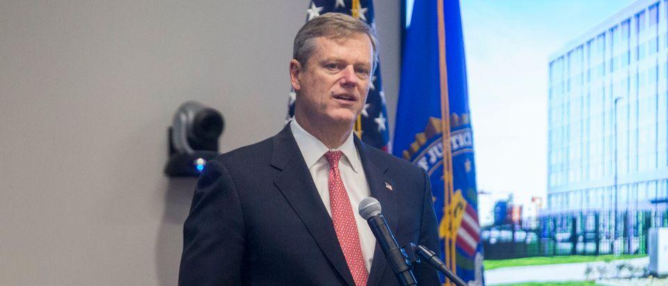 FBI Director James Comey Attends Opening Of FBI Boston Headquarters