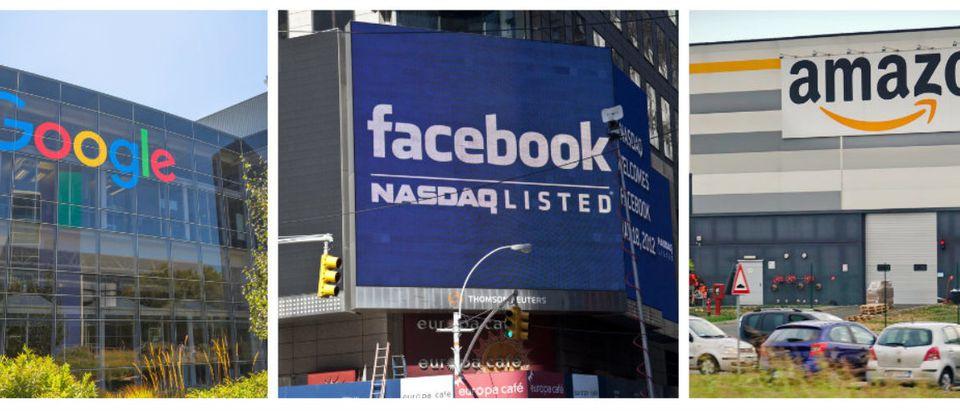 GoogleFacebookAmazon