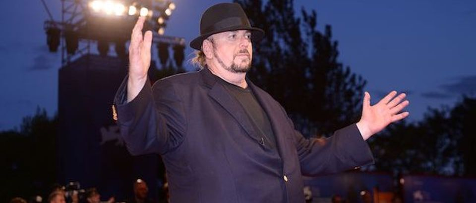 """James Toback attends the premiere of the movie """"The Private Life of a modern Woman"""" presented out of competition at the 74th Venice Film Festival on September 3, 2017 at Venice Lido. (Photo: FILIPPO MONTEFORTE/AFP/Getty Images)"""