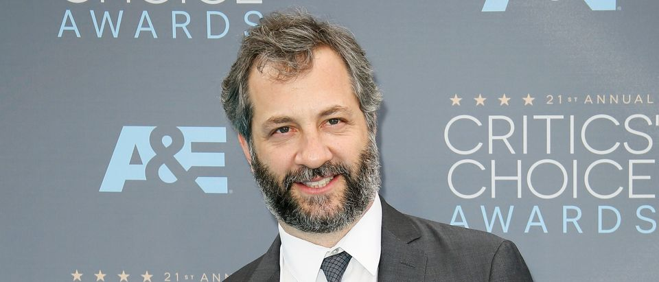 Judd Apatow arrives at the 21st Annual Critics' Choice Awards in Santa Monica