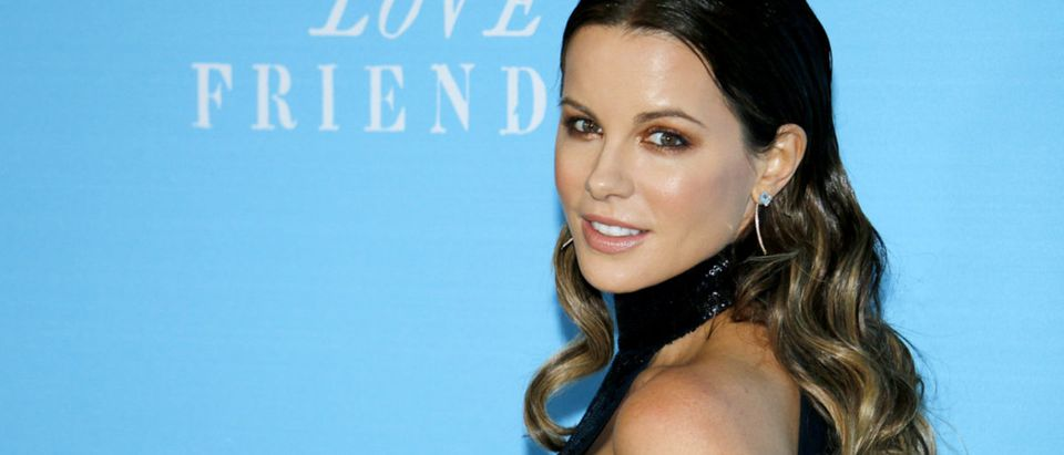 Kate Beckinsale at the Los Angeles premiere of 'Love And Friendship' held at the DGA Theater in Hollywood, USA on May 3, 2016. (Shutterstock)