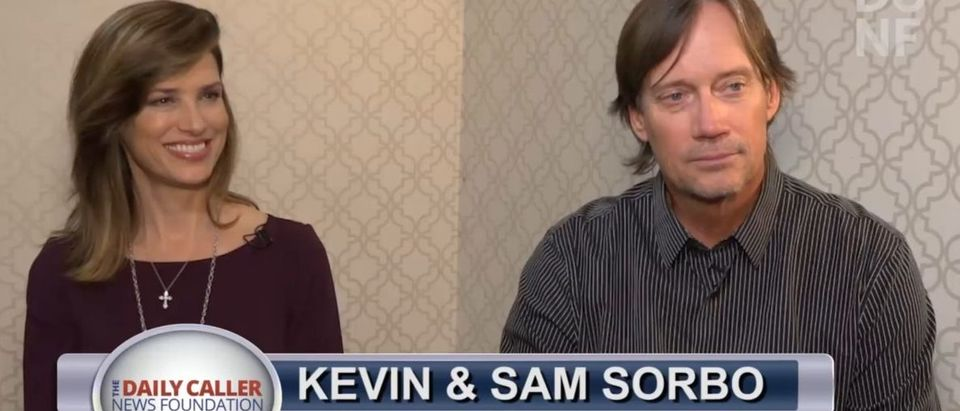 Kevin and Sam Sorbo are releasing their newest movie, 'Let There Be Light,' in an effort to reform American culture via Christian film-making. (screenshot/ TheDCNF)