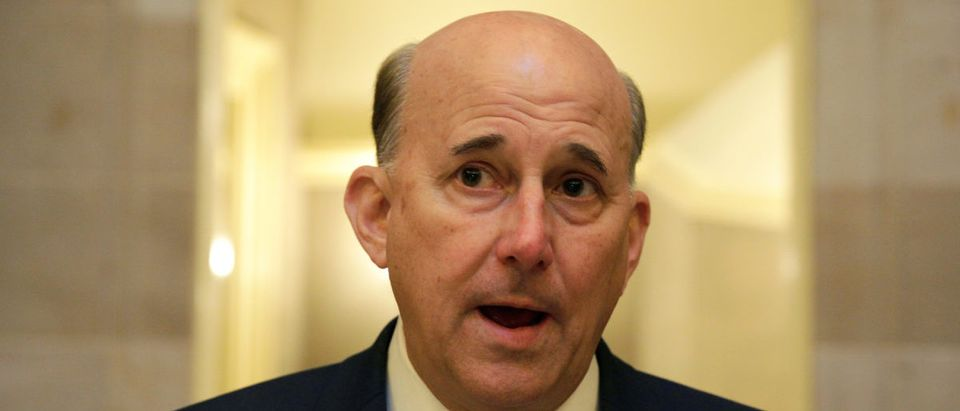 Rep. Louis Gohmert (R-TX) speaks to the media during the opening day of the 115th Congress in Washington, U.S., January 3, 2017. (REUTERS/Joshua Roberts)
