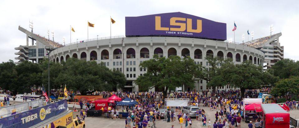 Football stadium at Louisiana State University (Shutterstock/Roberto Michel)
