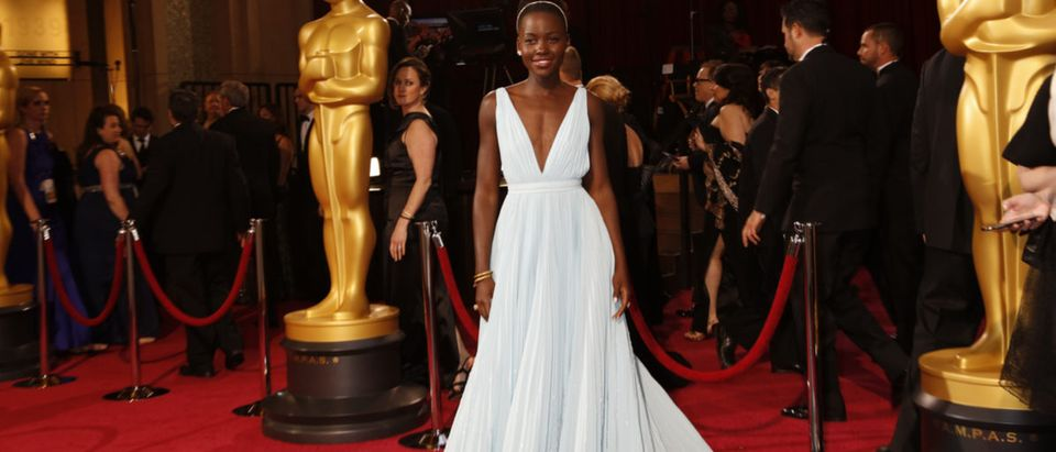 LOS ANGELES - MAR 2: Lupita Nyong'o at the 86th Academy Awards at Dolby Theater, Hollywood & Highland on March 2, 2014 in Los Angeles, CA Kathy Hutchins (Shutterstock)