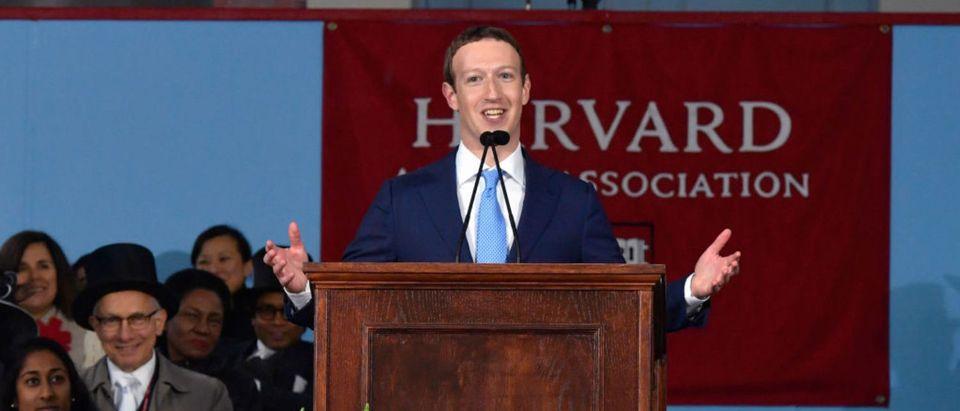 Facebook Founder Mark Zuckerberg Delivers Commencement Address At Harvard