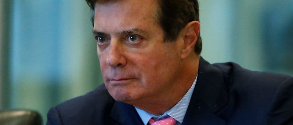 Paul Manafort of Republican presidential nominee Donald Trump's staff listens during a round table discussion on security at Trump Tower in the Manhattan borough of New York, U.S., August 17, 2016. Picture taken August 17, 2016. (Photo: REUTERS/Carlo Allegri)