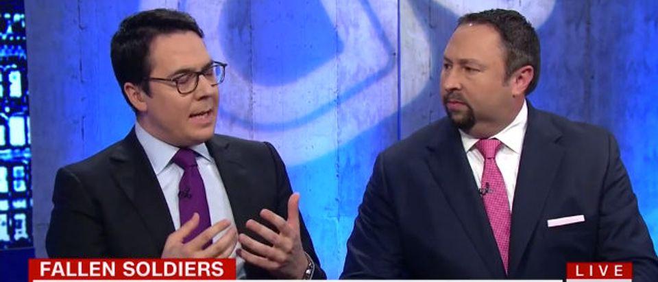 Ryan Lizza and Jason Miller on CNN (Photo: Screenshot/CNN)