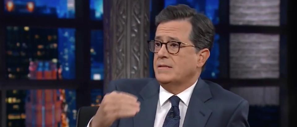 Colbert CBS screenshot