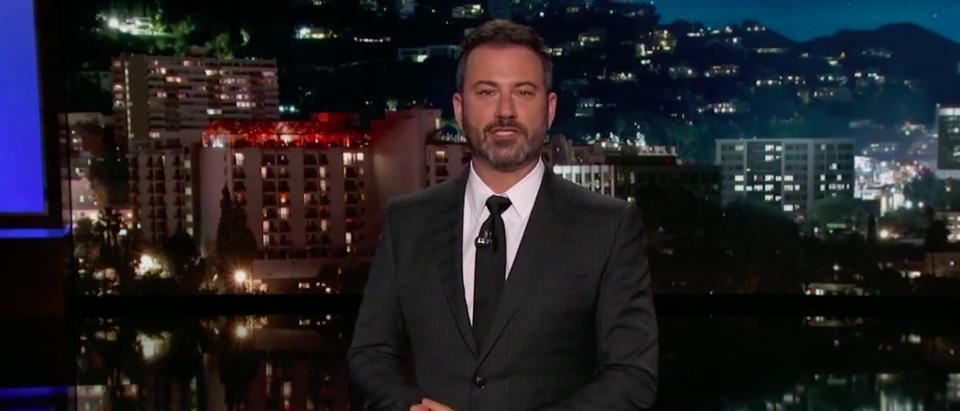 Screen Shot Jimmy Kimmel (ABC: Oct 3, 2017)