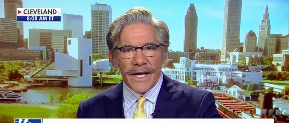 Screen Shot Geraldo Rivera (Fox News: Oct 6, 2017)