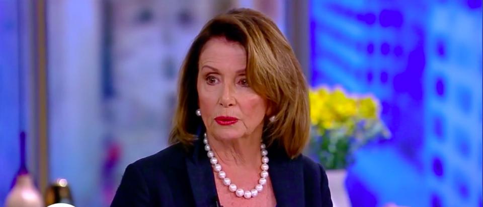 Screen Shot Nancy Pelosi (ABC: Oct 20, 2017)