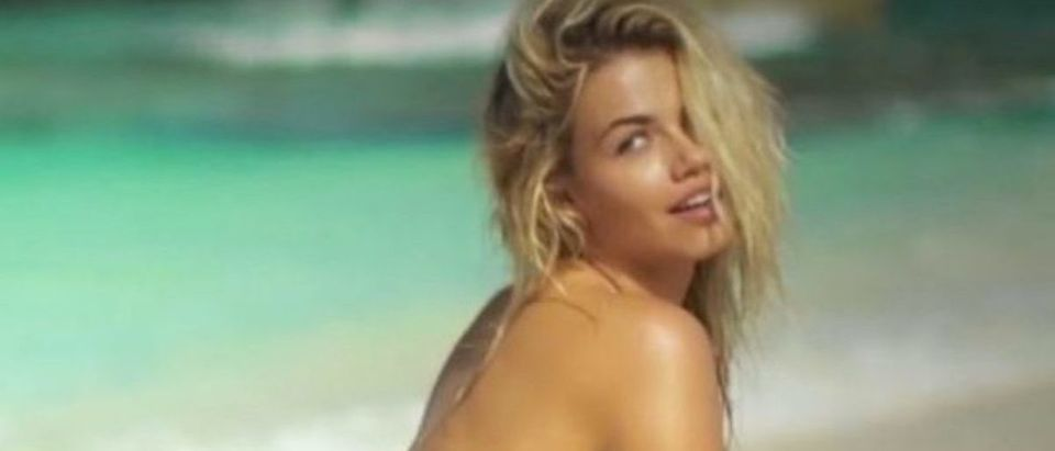 Hailey Clauson (Credit: Screenshot/YouTube Sports Illustrated Swimsuit)