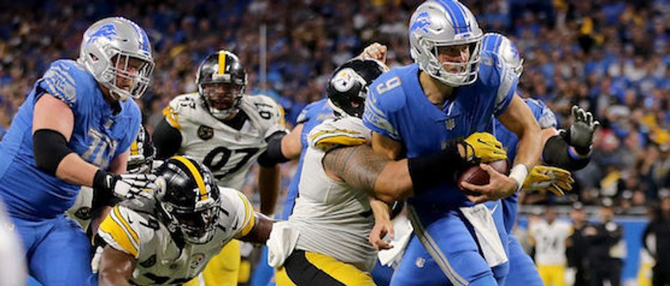 Pittsburgh Steelers v Detroit Lions