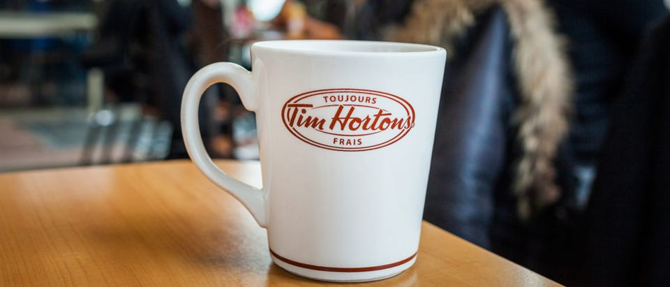 You can now get buffalo flavored lattes at Tim Hortons. (Shutterstock)