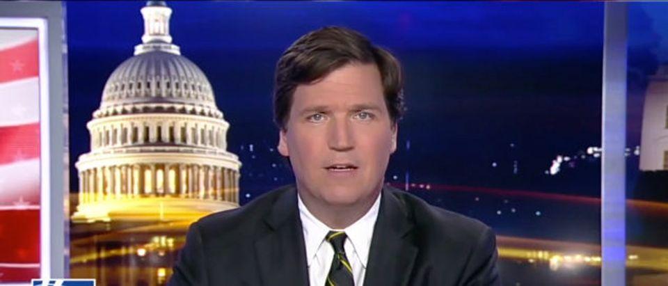 Tucker Podesta Fox News screenshot