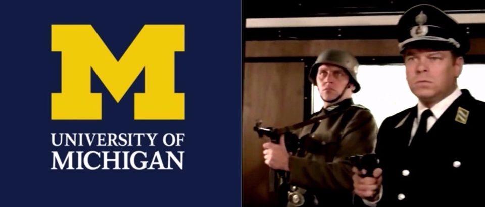 YouTube screenshot/University of Michigan, YouTube screenshot Top Secret/MOVIECLIPS