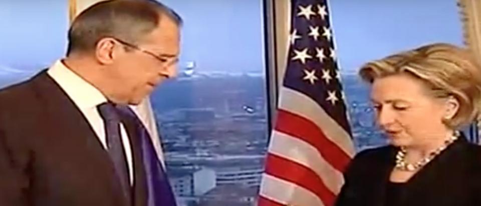Youtube Screenshot Clinton Russia Reset
