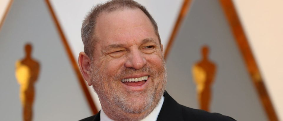 Harvey Weinstein arrives at the 89th Academy Awards in Hollywood, California, U.S. February 26, 2017. Picture taken February 26, 2017. REUTERS/Mike Blake