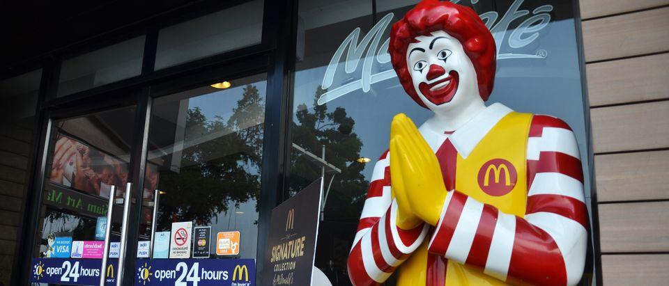 Ronald McDonald (Shutterstock)